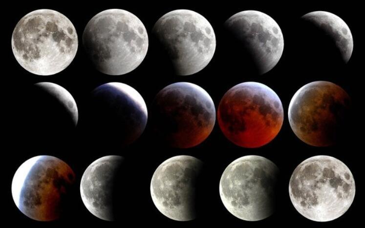 爱奇艺在线月全食直播 三景合一的天文奇观